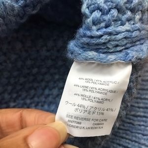 J. Crew Sweaters - J. Crew Blue Turtleneck Sweater